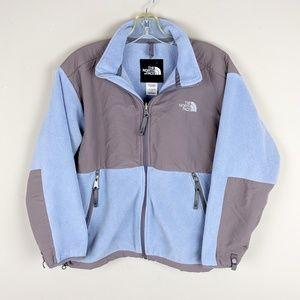 The North Face | Blue Gray Fleece Jacket